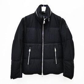●【中古】MONCLER/モンクレール ELOY 国内正規品 モンクレールジャパン ダウンジャケット サイズ:1 カラー:ブラック【f108】