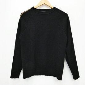 【中古】FENDI/フェンディ FAE533 セーター ニット サイズ:48 カラー:ブラック【f135】