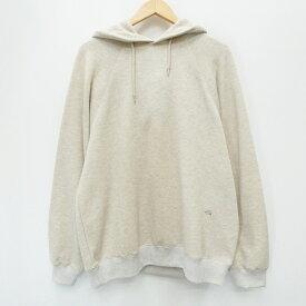 【中古】THE NORTH FACE PURPLE LABEL ザノースフェイスパープルレーベル NT6001N Pack Field Hooded Sweatshirt 20SS プルオーバーパーカー サイズ:L カラー:アイボリー / アウトドア【f100】