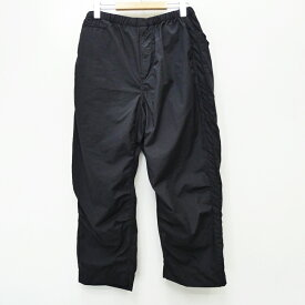 【中古】THE NORTH FACE PURPLE LABEL ザノースフェイスパープルレーベル NT5005N 'Cropped Pants' ショートパンツ サイズ:32 カラー:ブラック / アウトドア【f107】
