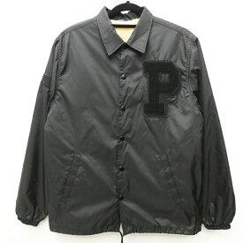 【中古】the POOL aoyama プールアオヤマ [POL-2500-B] 'ボアコーチジャケット' サイズ:S カラー:ブラック【f096】