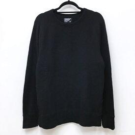 【中古】LOOPWHEELER ループウィラー スウェット サイズ:L カラー:ブラック / セレクト【f099】