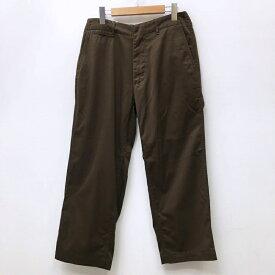 【中古】nanamica ナナミカ チノパンツ サイズ:30 カラー:ブラウン SUCF913 model:Wide Chino Pants / セレクト【f107】