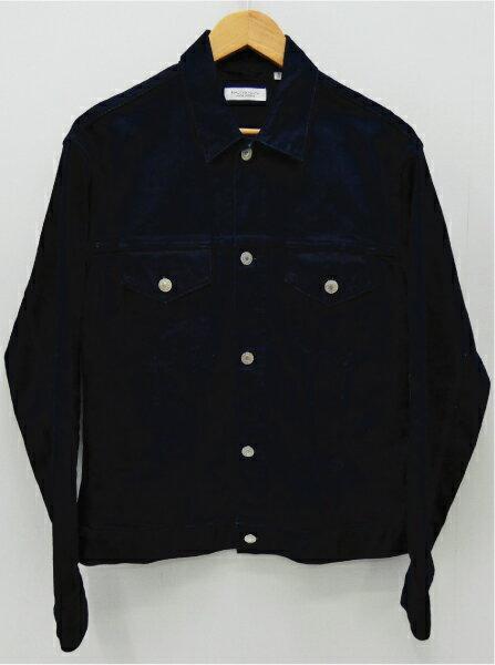 【中古】UNITED ARROWS/ユナイテッドアローズ インディゴ/カツラギ Gジャケットデニムジャケット サイズ:L カラー:ネイビー / セレクト