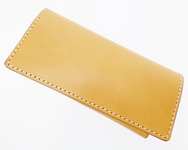 【中古】HERZ/ヘルツ 札入れカードケース 財布 カラー:キャメル