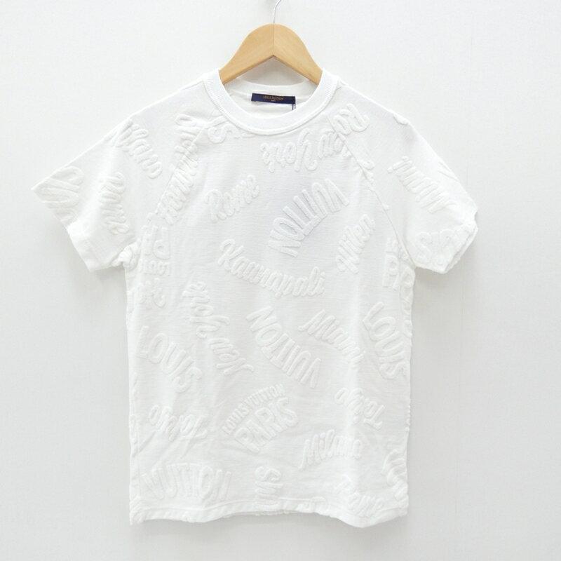 【中古】LOUIS VUITTON/ルイ・ヴィトン 半袖Tシャツ サイズ:XS カラー:ホワイト【f135】