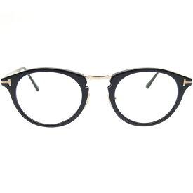 【中古】TOM FORD/トムフォード 伊達眼鏡/TF5467 001/48□22-145 サイズ:- カラー:ブラック×クリア【f116】