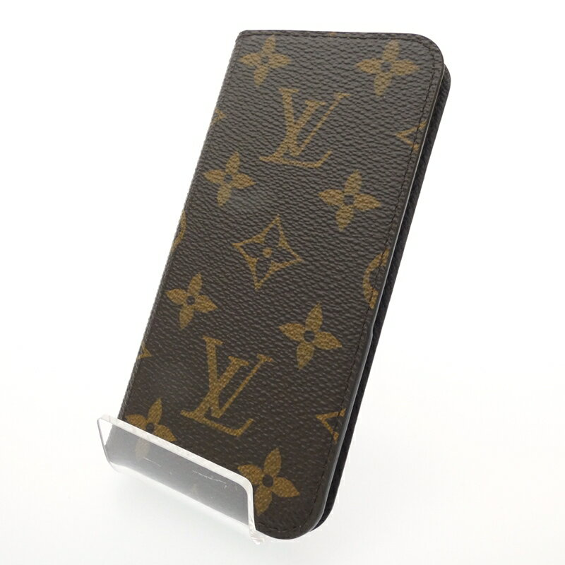 【中古】LOUIS VUITTON/ルイ・ヴィトン iPhone6フォリオ iPhone6ケース サイズ:- カラー:ブラウン【f135】