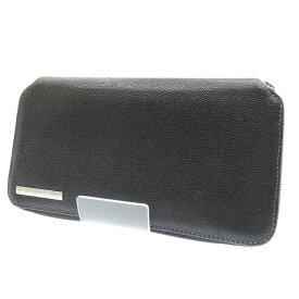 【中古】Cartier/カルティエ ラウンドファスナー長財布 サイズ:- カラー:ブラック【f125】