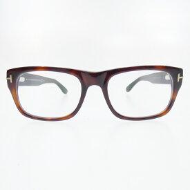 【中古】TOM FORD/トムフォード TF5253 052 伊達眼鏡 メガネ サイズ:52□18 145 カラー:ブラウン【f116】