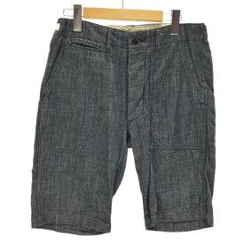 【中古】Engineered Garments/エンジニアド ガーメンツ Ranger denim Shorts デニムショーツ ハーフパンツ サイズ:30 カラー:ネイビー系 / セレクト【f107】