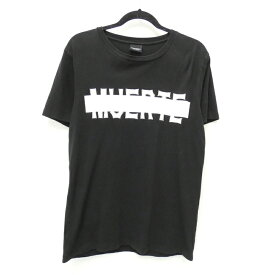 【中古】MARCELO BURLON/マルセロ・バーロン MUERTE Tee 半袖Tシャツ サイズ:XS カラー:ブラック【f108】