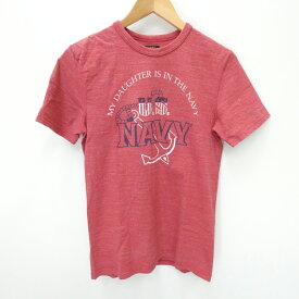 【中古】THE REAL McCOY'S/ザリアルマッコイズ 半袖Tシャツ サイズ:38 カラー:レッド / アメカジ【f101】