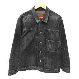 【中古】TENDERLOIN/テンダーロイン T-1st デニムジャケット サイズ:S カラー:ブラック / ルード【f096】
