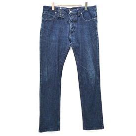 【中古】John Galliano/ジョンガリアーノ AUP230A デニムパンツ サイズ:50 カラー:ネイビー系【f108】