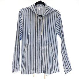【中古】COMME des GARCONS SHIRT BOYS/コムデギャルソンシャツボーイズ ストライプフーディブルゾン サイズ:S カラー:マルチカラー【f108】