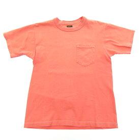 【中古】THE REAL McCOY'S/ザ・リアルマッコイズ SPORTSWEAR POCKET TEE S/S半袖Tシャツ サイズ:36 カラー:ピンク系 / アメカジ【f101】