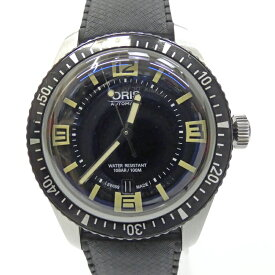 【中古】ORIS オリス DIVERS 65 ダイバーズ 65 時計 アナログ 自動巻き サイズ:- カラー:ブラック【f131】