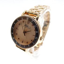 【中古】JILLSTUART/ジル スチュアート 腕時計/クォーツ サイズ:- カラー:ピンク系(文字盤)×ゴールド(ベルト)【f131】