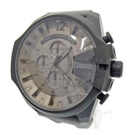 【新古品/未使用品】DIESEL/ディーゼル 腕時計 DZ4496 クォーツ アナログ ラバーバンド サイズ:- カラー:グレー系【f130】