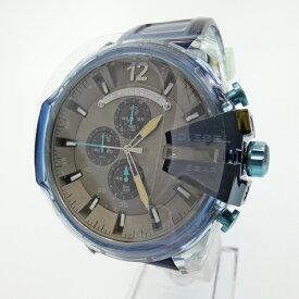 【新古品/未使用品】DIESEL/ディーゼル 腕時計 DZ4487 クォーツ アナログ サイズ:- カラー:グレー系(文字盤)ブルー(ベルト)【f130】
