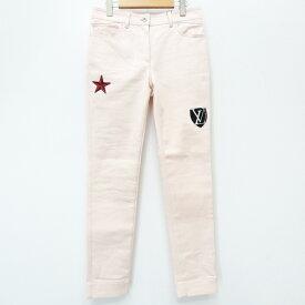 【中古】LOUIS VUITTON/ルイ・ヴィトン スキニーパンツ サイズ:38 カラー:ライトピンク系【f135】