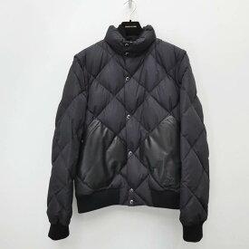 【中古】LOUIS VUITTON/ルイ・ヴィトン ダウンジャケット サイズ:52 カラー:ブラック【f135】