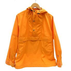【中古】THE NORTH FACE PURPLE LABEL/ザ・ノースフェイスパープルレーベル NP2208N 65/35 Mountain Pullover アノラックパーカー サイズ:M カラー:オレンジ / アウトドア【f092】