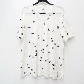 【中古】LAD MUSICIAN ラッドミュージシャン 16SS [2116-738] 'バタフライ柄BIG T-SHIRT' Tシャツ半袖 サイズ:42 カラー:ホワイト【f104】