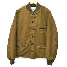 【中古】SUGAR CANE シュガーケーン [SC12901] '9oz. Moleskin Troy Blanket Jacket' ワークジャケット サイズ:40 カラー:ブラウン / アメカジ【f093】