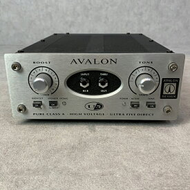 AVALON DESIGN / U5 【中古】【楽器/ダイレクトボックス/ベース/アコギ/DTM・DAW・音響機器/アヴァロン】