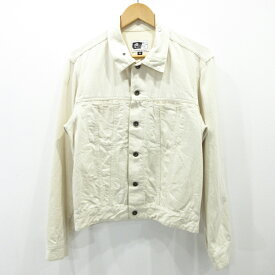 【中古】Engineered Garments/エンジニアードガーメンツ デニムジャケット サイズ:M カラー:ホワイト系 / セレクト【f091】