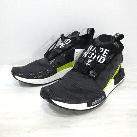 61031dab4 中古  中古 adidas Originals×A BATHING  APE×NEIGHBORHOOD|アディダスオリジナルス×アベイシングエイプ×ネイバーフッド EE9702 NBHD BAPE NMD STEALTH  エヌ ...