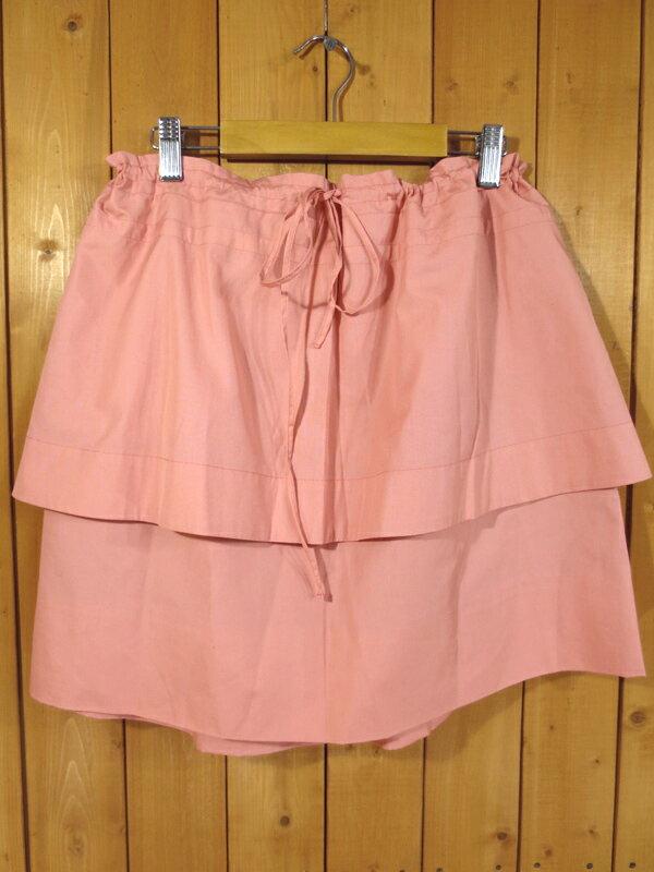 【中古】SEE by CHLOE/シー・バイ・クロエ スカート サイズ:USA4 カラー:ピンク
