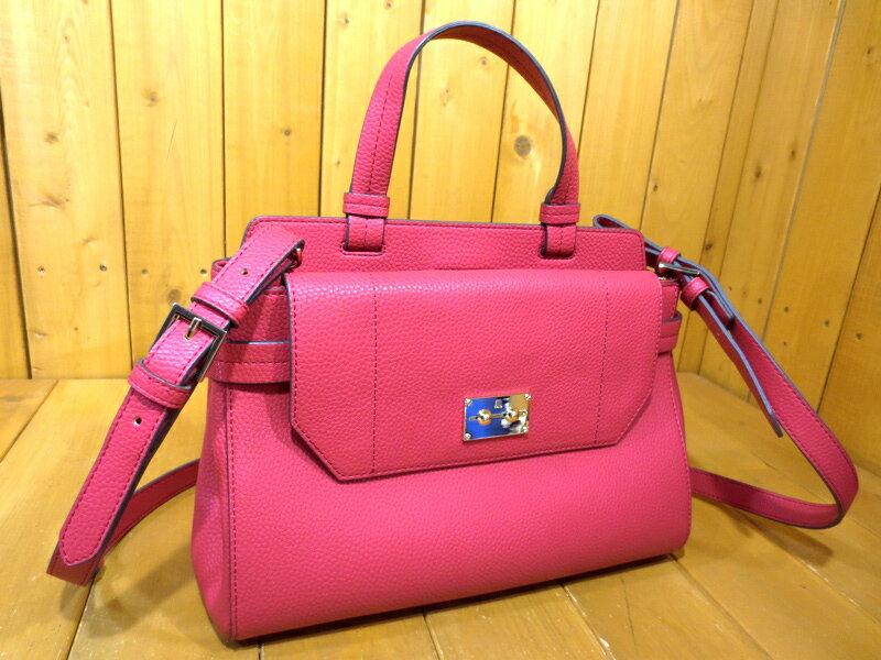 【中古】LANVIN en Bleu/ランバンオンブルー 2WAY ハンドバッグ カラー:ピンク系