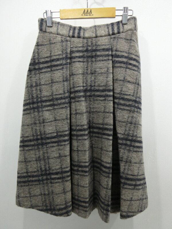 【中古】URBAN RESEARCH ROSSO/アーバンリサーチロッソ スライバーニットスカート サイズ:36 カラー:グレー系
