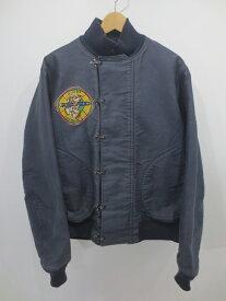 【中古】BUZZ RICKSON'S/バズリクソンズ デッキフックジャケット サイズ:40 カラー:ネイビー系 / アメカジ
