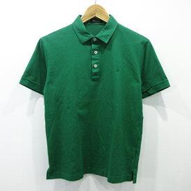 【中古】BLACK LABEL CRESTBRIDGE/ブラックレーベル クレストブリッジ 半袖ポロシャツ サイズ:2 カラー:グリーン / インポート【f102】