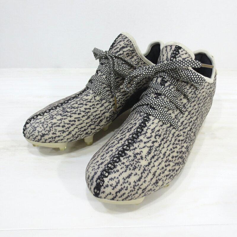【中古】adidas|アディダス B42410 YEEZY 350 CLEAT イージー350 クリート / スニーカー サイズ:28.5cm カラー:CWHITE/CBLACK/GOLDMT【f126】