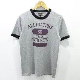【中古】THE REAL McCOY'S|リアルマッコイズ 半袖Tシャツ サイズ:36 カラー:グレー / アメカジ【f101】
