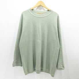 【中古】AUGUSTE-PRESENTATION|オーギュストプレゼンテーション Tシャツ 長袖 サイズ:L カラー:-【f104】