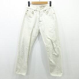 【中古】BONCOURA/ボンクラ デニムパンツ サイズ:30 カラー:ホワイト系 / アメカジ【f107】