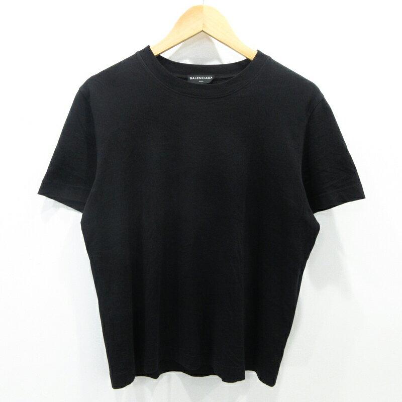 【中古】BALENCIAGA|バレンシアガ 半袖Tシャツ サイズ:M カラー:ブラック【f108】