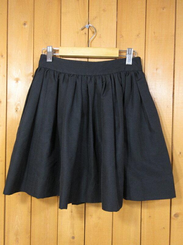 【中古】kate spade/ケイトスペード ミニスカート サイズ:- カラー:ブラック