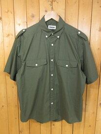 【中古】ONIKI/オニキ ボタンダウン半袖シャツ サイズ:M カラー:カーキ