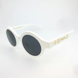 【中古】Supreme×LOUIS VUITTON シュプリーム×ルイヴィトン Z0991E Downtown Sunglasses ダウンタウン サングラス / ラウンドフレーム サイズ:46□21 145 カラー:ホワイト【f135】