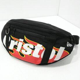 【中古】F.C.Real Bristol/エフシー レアルブリストル NEW ERA FIRE FLAME ウエストバッグ カラー:ブラック【f121】
