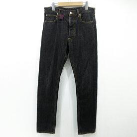 【中古】Vivienne Westwood MAN ヴィヴィアンウエストウッドマン DENIM PANTS デニムパンツ サイズ:44 カラー:ブラック【f107】