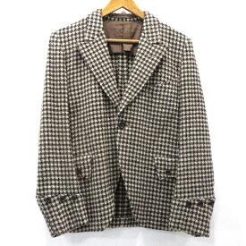 【中古】HAVERSACK|ハバーザック 千鳥格子 ウールテーラードジャケット サイズ:S カラー:- / セレクト【f091】