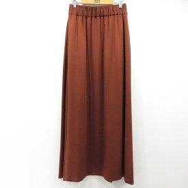 【中古】Ron Herman ロンハーマン ロングスカート 2510500007 サイズ:S カラー:ブラウン / Vivi系【f112】